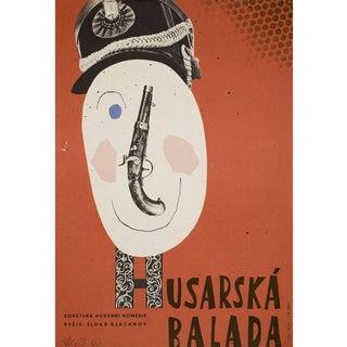 Hussard Ballad 1963 Czech A3 Film Poster For Sale