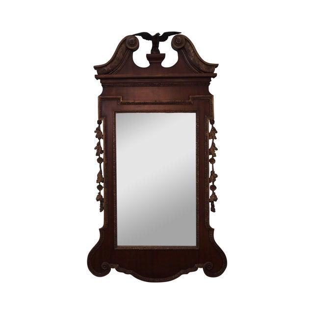 Antique Mahogany Georgian George III Style Mirror - Image 1 of 10