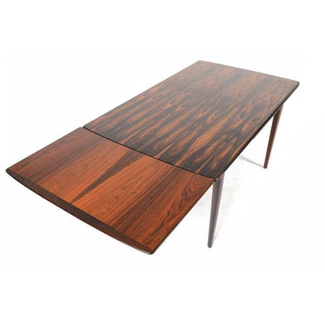 Brazilian Rosewood Draw Leaf Dining Table - Image 8 of 11