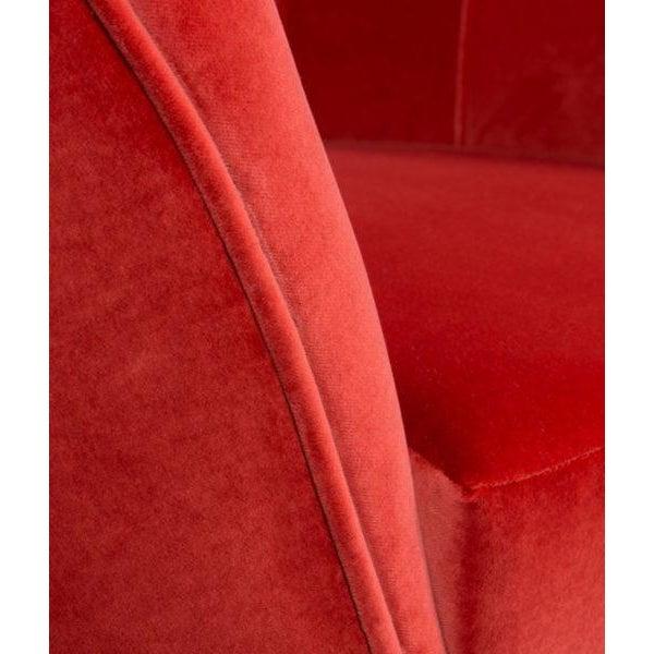 Textile Covet Paris Andes Armchair For Sale - Image 7 of 10