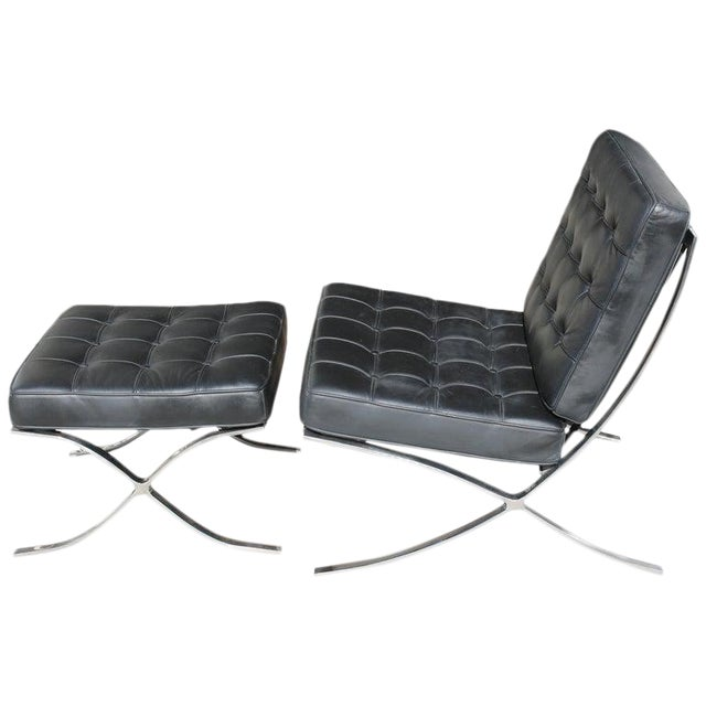 Awesome Barcelona Chair And Ottoman Caraccident5 Cool Chair Designs And Ideas Caraccident5Info