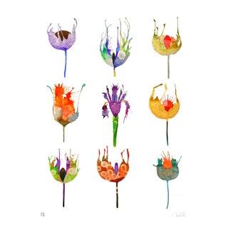 """Botanical Specimen Chart One"" Giclee Print"