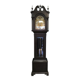 1910s C1919 Herschedes Tubular Grandfather Clock For Sale