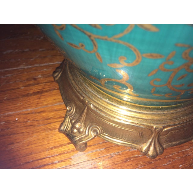 Mid 19th Century Frederick Cooper Asian Inspired Ginger Jar Table Lamp For Sale - Image 5 of 7
