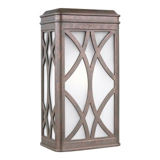 Lydia Medium One Light Outdoor Wall Lantern, Copper For Sale