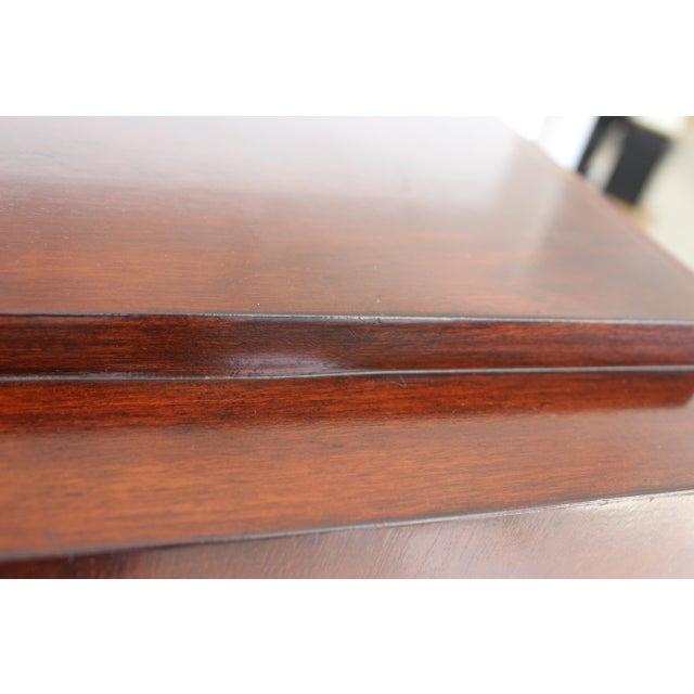 Vintage Mahogany Pedestal For Sale - Image 10 of 13