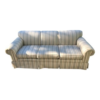 Century Furniture Striped Sofa For Sale