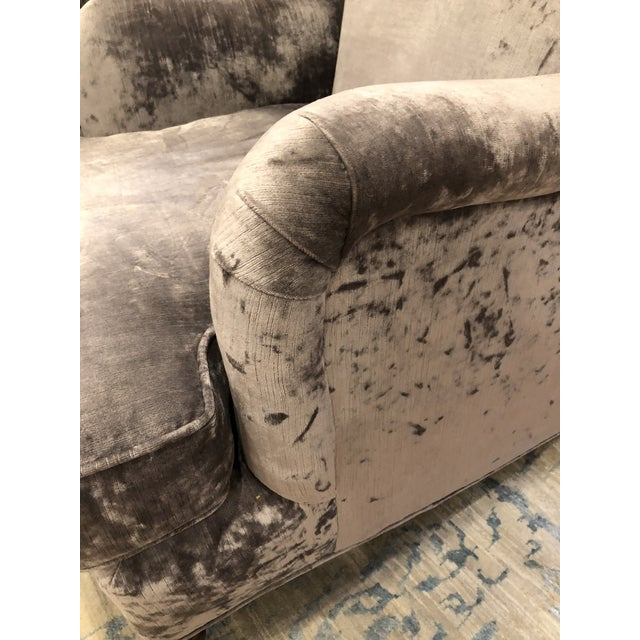 Oversized Lee Industry Upholstered Chairs - A Pair - Image 8 of 10