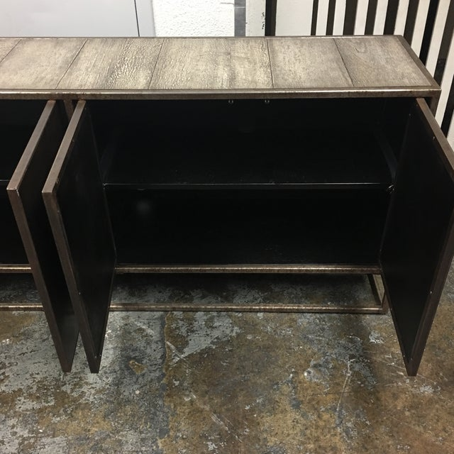Four Hands Roman Contemporary Credenza - Image 6 of 9
