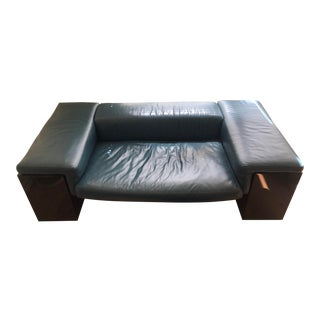 Vintage Brigadier Sofa Cini Boeri for Knoll International Couch For Sale