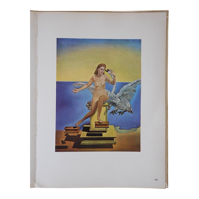 Vintage Surrealist Lithograph-Salvador Dali-France-1957 For Sale