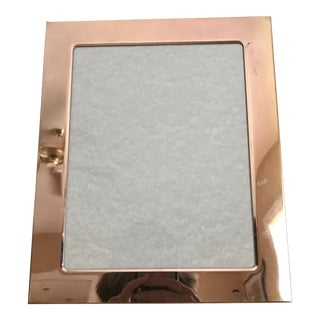 Vintage Silver Picture Frame For Sale