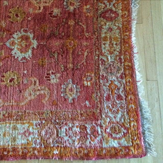 Silk Oriental Rug - 3'5'' x 6' - Image 4 of 7