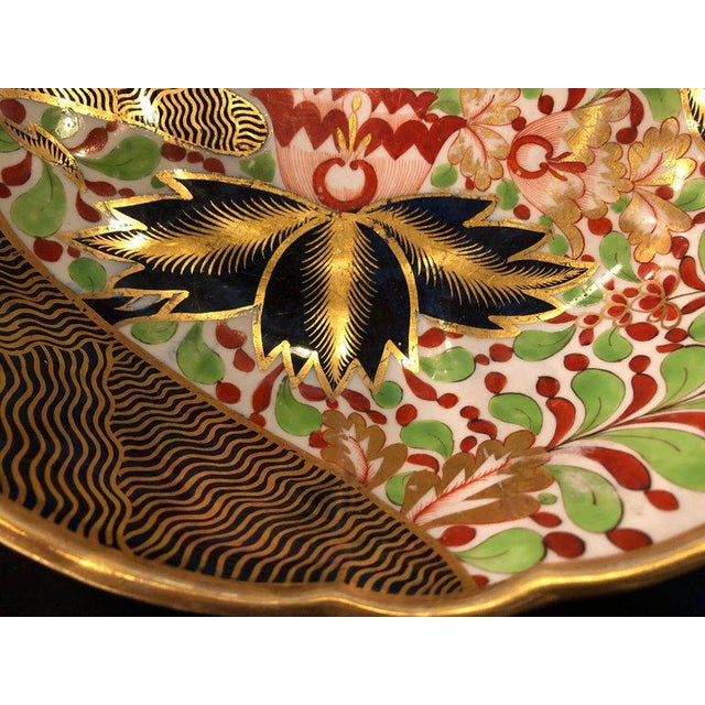 Late 19th Century English Worcester Porcelain Imari 19th Century Continental Circular Bowl For Sale - Image 5 of 11