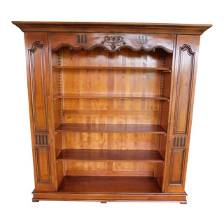 De Bournay French Louis XIII Open Bookcase For Sale