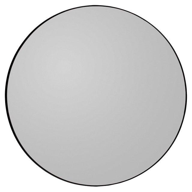 Metal Aytm Large Black Circum Mirror For Sale - Image 7 of 7