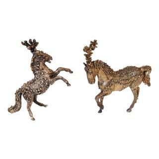 Sasha Brastoff Circus Horse Miniatures - Pair Price For Sale