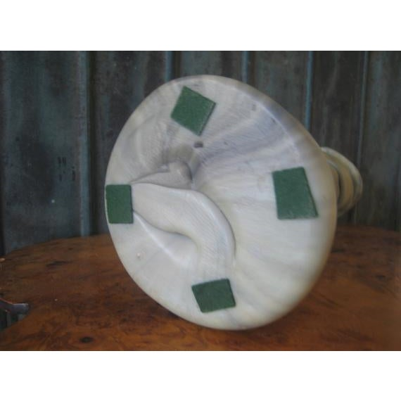 1970s Vintage Remo Pintus Postmodern Organic Sculptural Resin Vase For Sale In San Francisco - Image 6 of 8