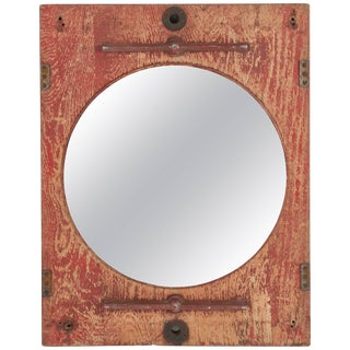 Late 19th Century Painted French Mirror For Sale