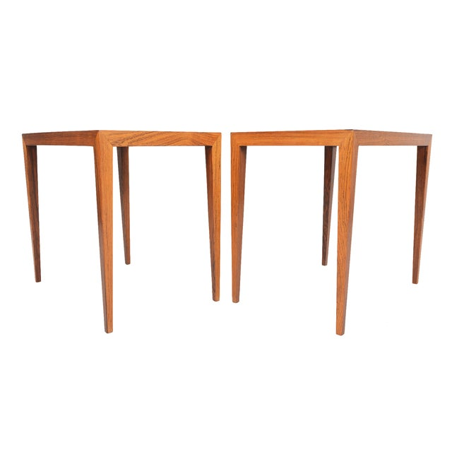 Severin Hansen Rosewood Side Tables - A Pair - Image 2 of 10