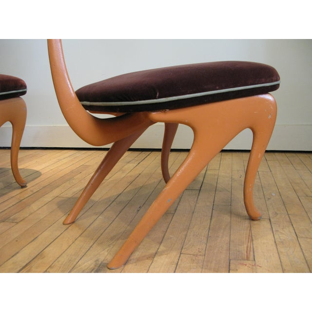 1990s Pair of Lounge Chairs by Jordan Mozer For Sale - Image 5 of 8