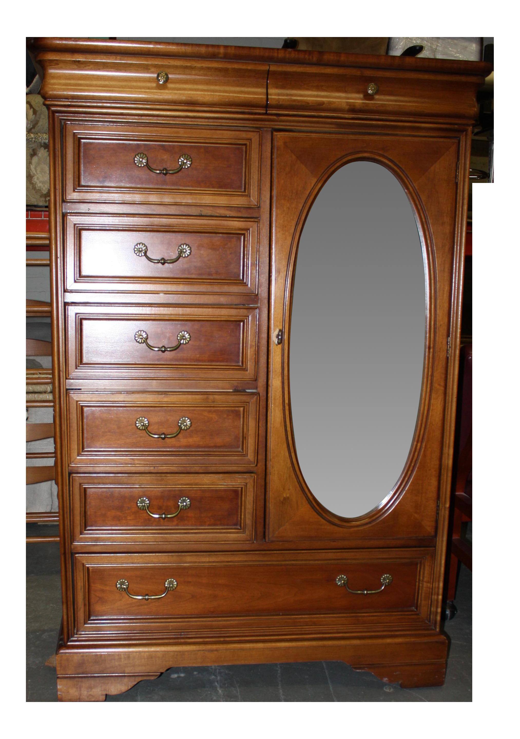Lexington Furniture Mirrored Armoire