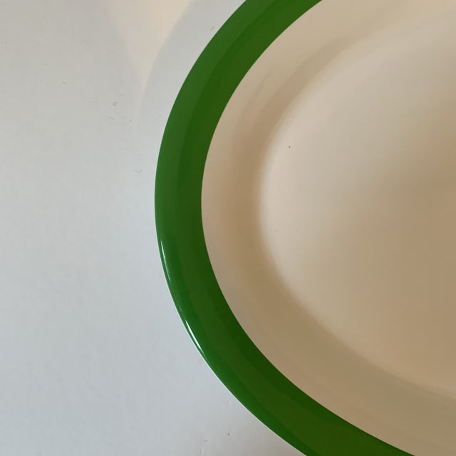 Traditional Kate Spade Lenox Rutherford Green Serving Platter For Sale - Image 3 of 7