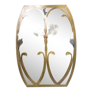 Mid-Century Modern Italian Mirror For Sale