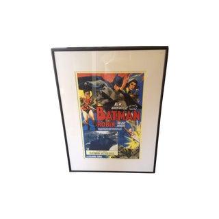 Vintage Batman Poster