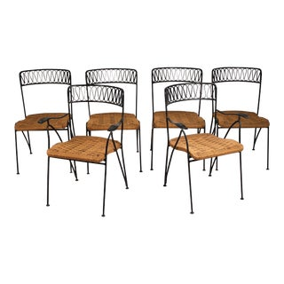 Set of Six Salterini Chairs by Maurizio Tempestini For Sale