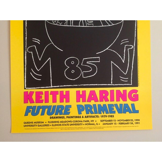 "Keith Haring ""Future Primeval"" Original Offset Lithograph For Sale In New York - Image 6 of 10"