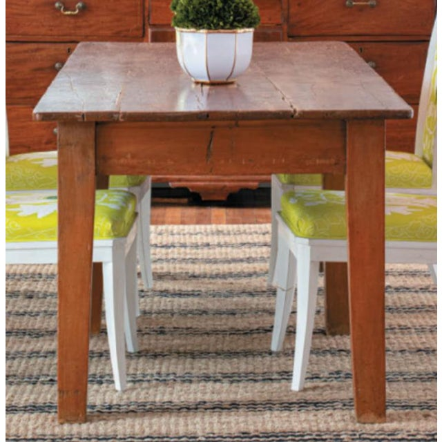 French 19th Century French Farm Table For Sale - Image 3 of 4