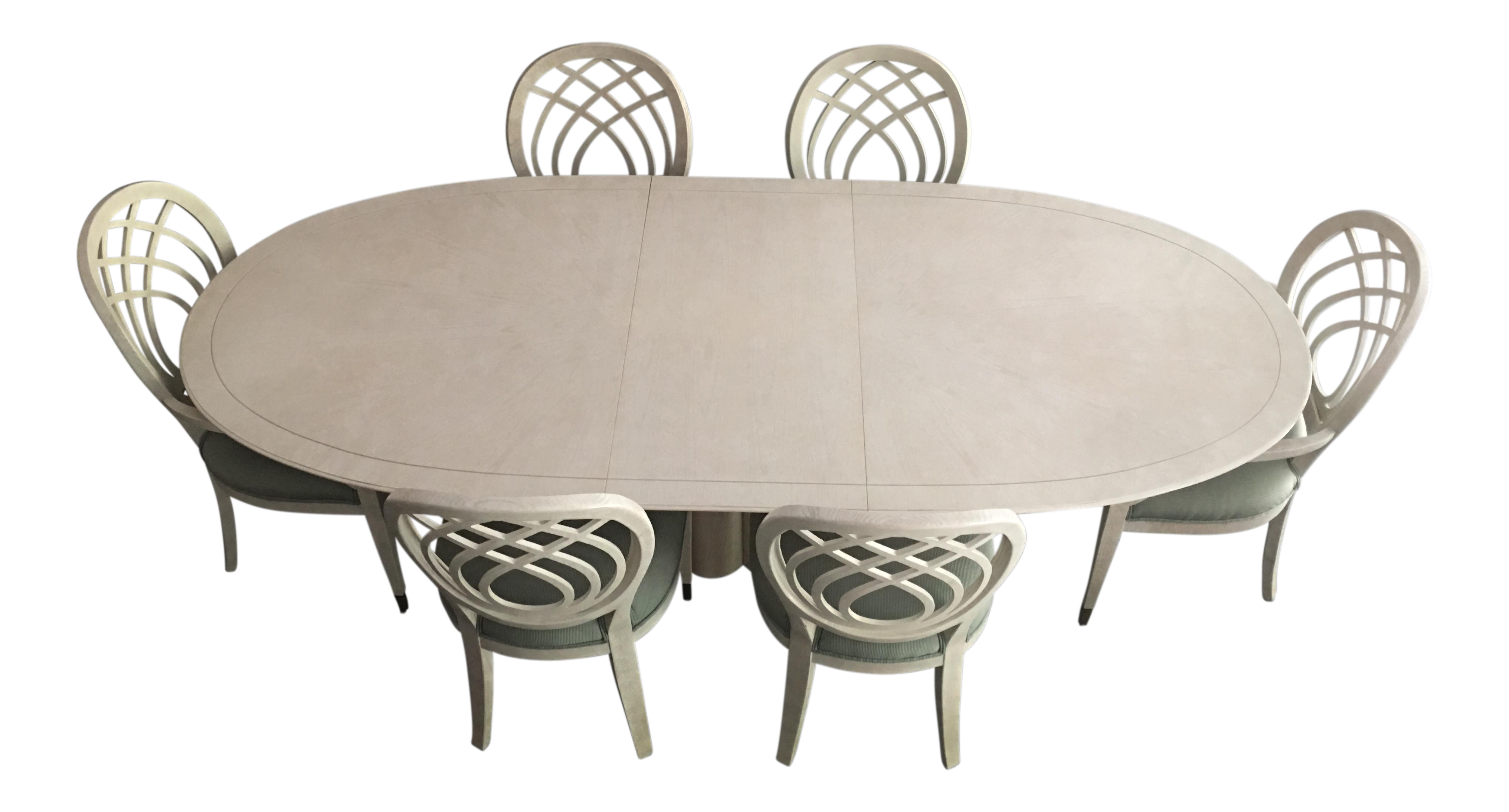 Exceptionnel Henredon Dining Table U0026 Chairs For Sale