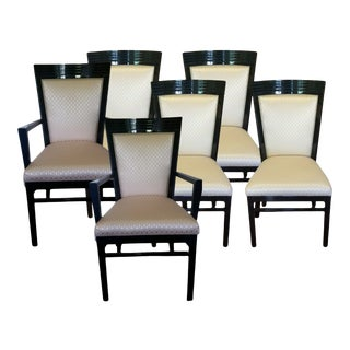 Henredon Dining Arm Chairs - Set of 6 For Sale