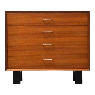George Nelson forHerman Miller Walnut Dresser Chest For Sale