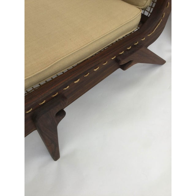 Pair of limited edition George Allen lounge chairs For Sale - Image 4 of 8