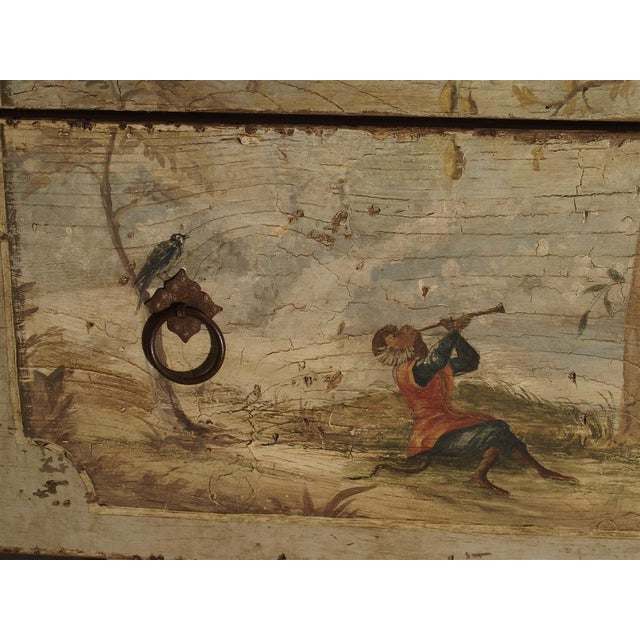 Antique Painted Commode From Italy, 19th Century For Sale - Image 12 of 13