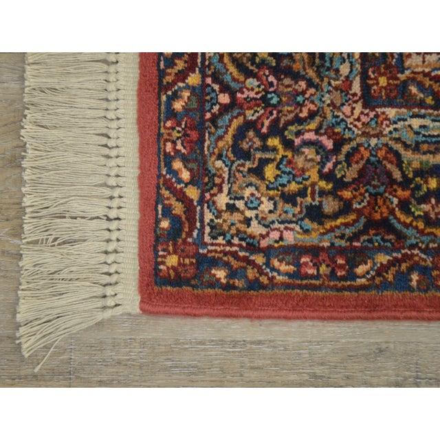 Karastan Multicolor Panel 5.9 X 6.9 Area Rug # 717 For Sale - Image 9 of 13