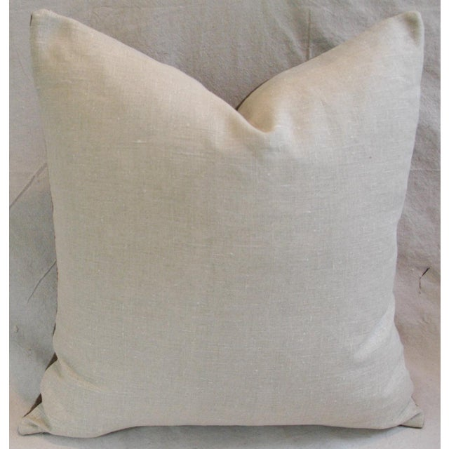 Swiss Wool & Linen Applique Cross Feather/Down Pillow - Image 4 of 4