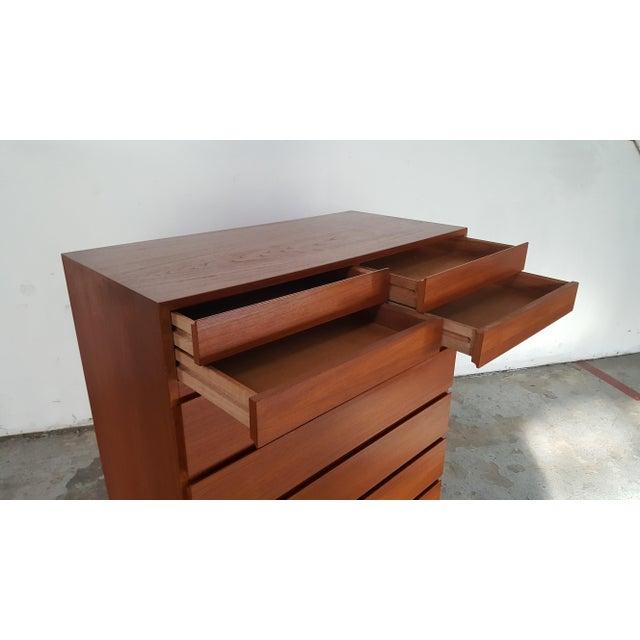1950s 1950s Vintage Arne Wahl Iversen for Vinde Mobelfabrik Teak Dresser For Sale - Image 5 of 12