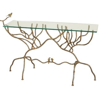 Maitland-Smith Branch Console Table For Sale