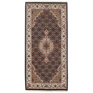 "Pasargad N Y Tabriz Mahi Design Silk & Wool Rug - 2'5"" X 4'11"""