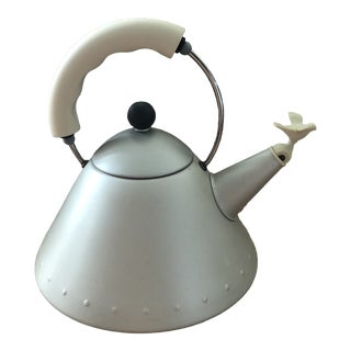 Michael Graves Anodized Steel Tea Kettle For Sale