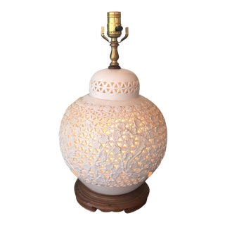 Blanc De Chine Table Lamp For Sale