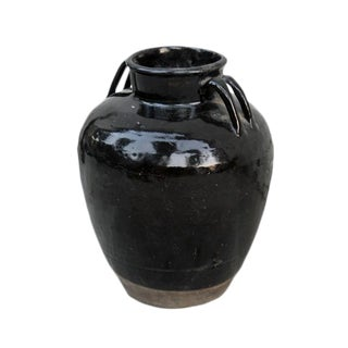 Chinese Black Wine Jar For Sale