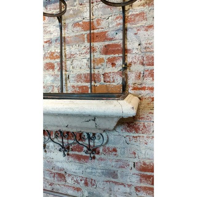 Superb Spanish Wrought Iron Window Cage Planter Box W