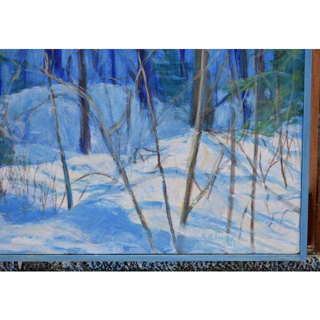 "Stephen Remick Stephen Remick Contemporary Painting ""Up and Into the Mountains of Vermont"" For Sale - Image 4 of 13"