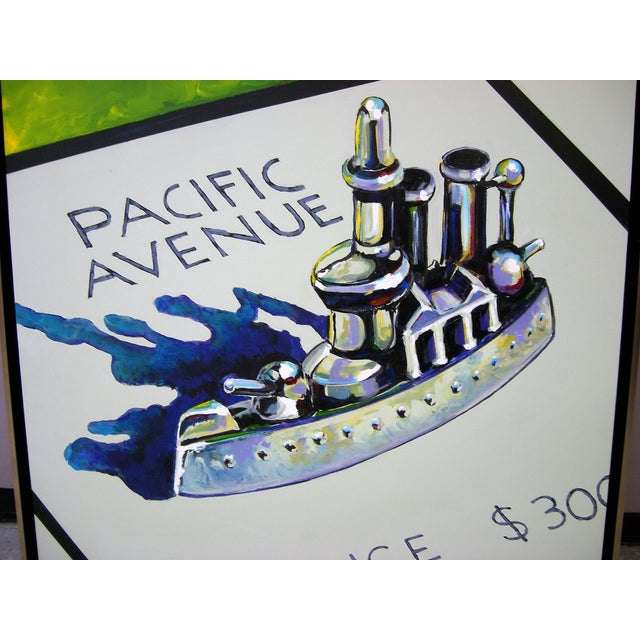 Monopoly Battleship Original Painting - Image 3 of 4