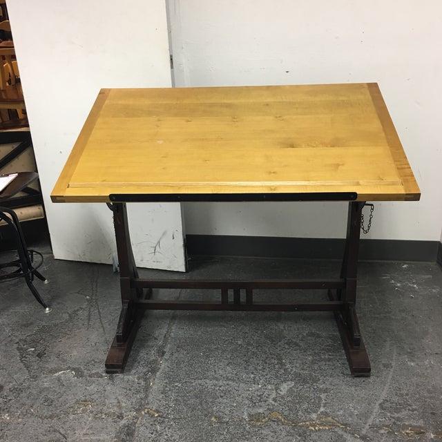 Restoration Hardware 1920s French Drafting Table Chairish