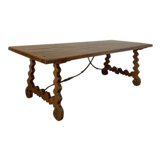 18th Century Spanish Dining Table For Sale